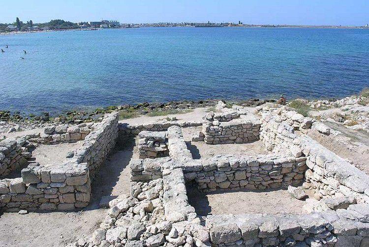 Калос Лимен (источник - http://krymgid.ru/maps/history/antichnyi-gorod-kalos-limen.html)