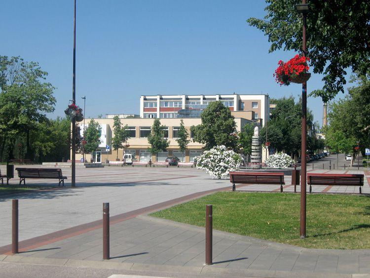 Главная площадь Игналины