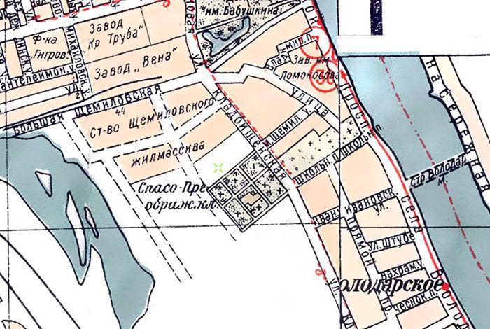 План Ленинграда 1925 г. Гублит. (www.etomesto.ru)