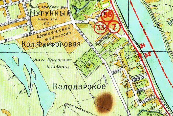Новый план Ленинграда 1934 г. (www.etomesto.ru)