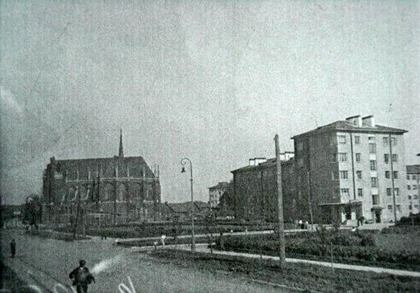 Церковь Святейшего Сердца Иисусова на Щемиловке 1934 г.