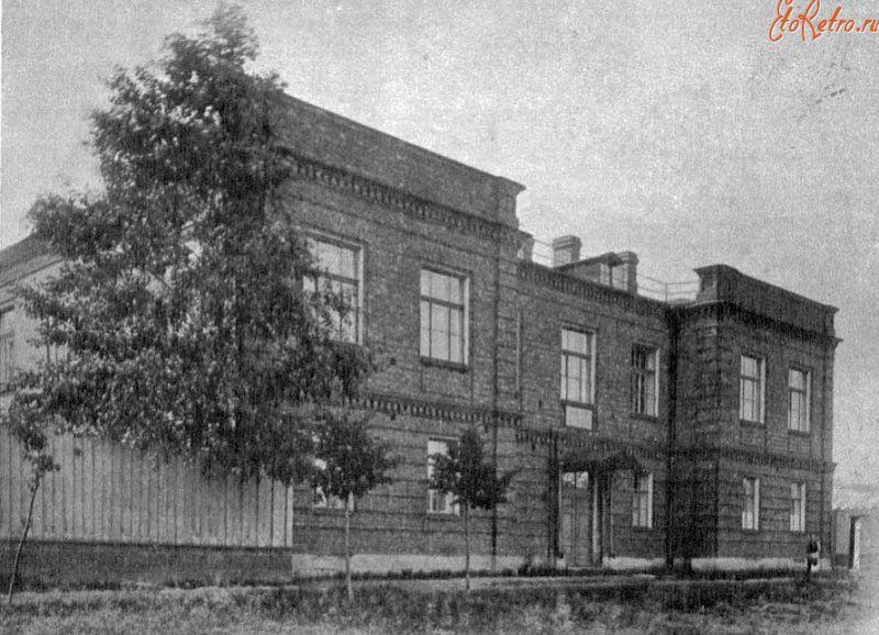 Первоначальный вид здания школы им. принца Ольденбургского