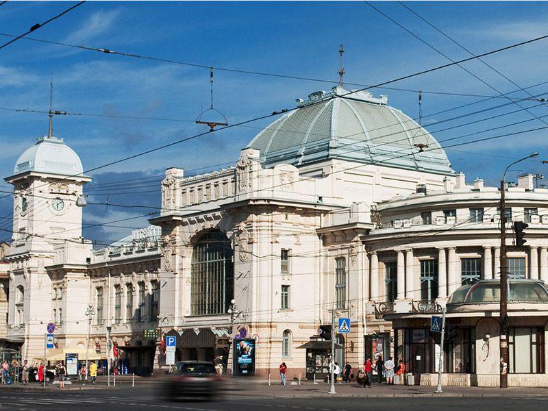 Витебский вокзал сегодня