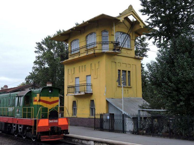 Бывший Исполнительно-распорядительный пост – первое здание в Санкт-Петербурге, целиком построенное из бетона