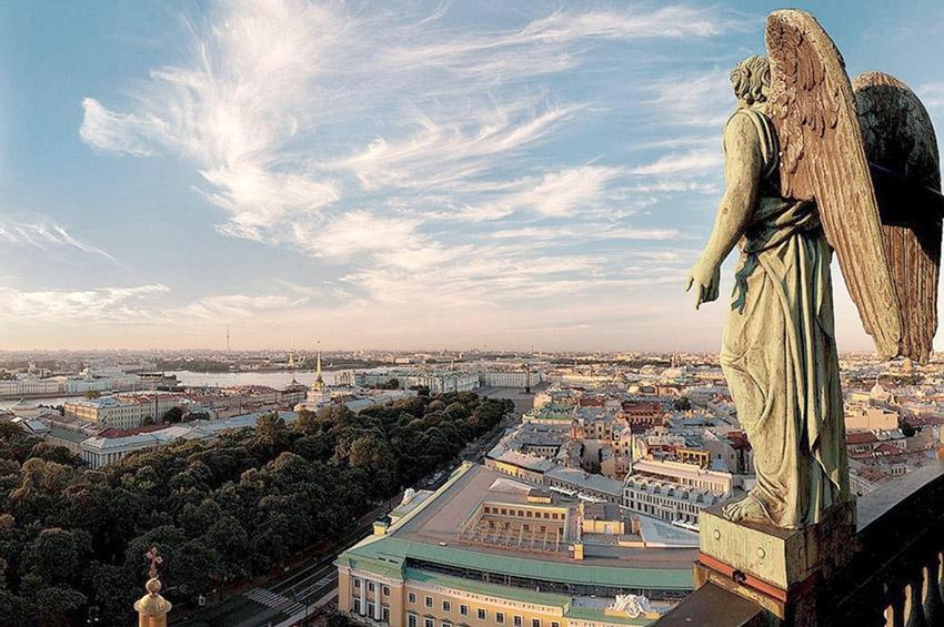 Непривычный ракурс: Петербург с высоты