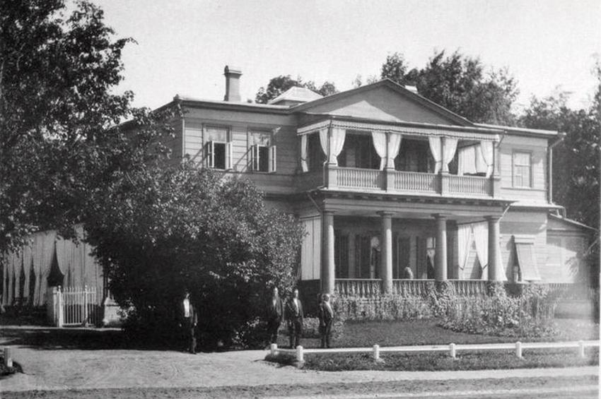 Из истории Дворцового сада в Красном селе (XIX век)