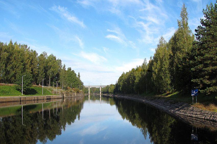 Малый круиз по Сайменскому каналу