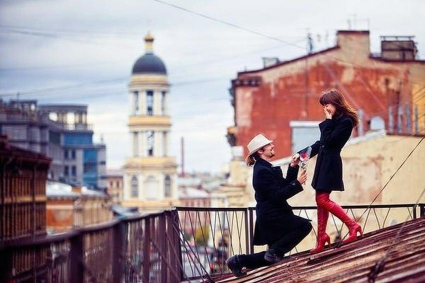 Романтические места для влюбленных в Санкт-Петербурге