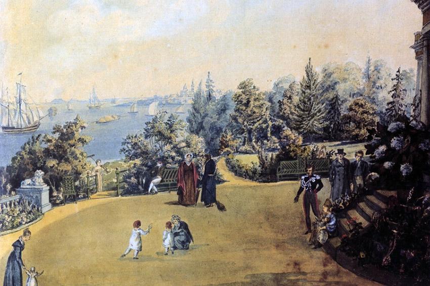 Об утраченных загородных дворцах XVIII века на берегах Невы