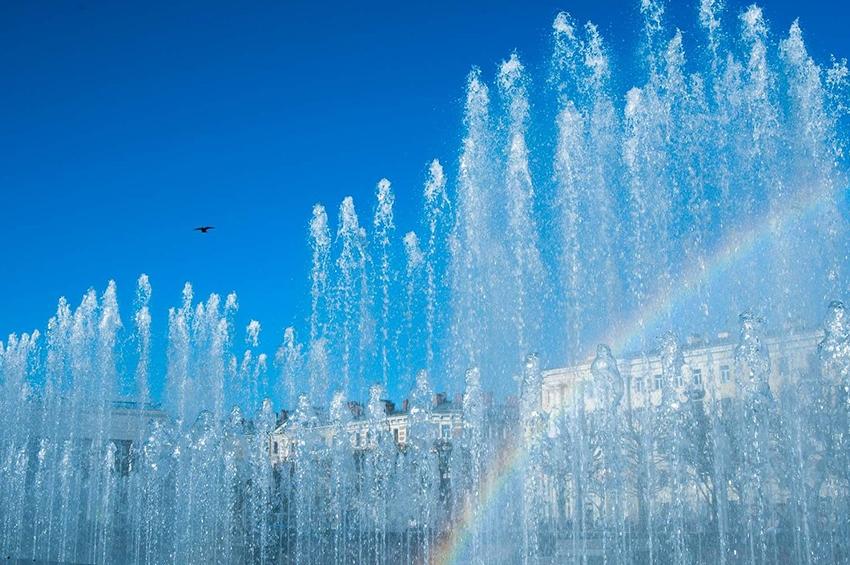 Петербургские фонтаны отключают на зимовку