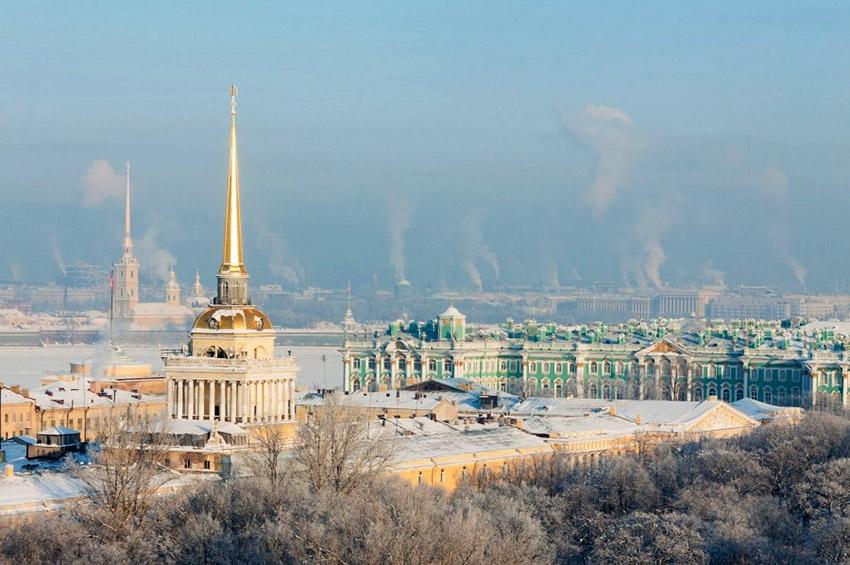 Краски зимнего Петербурга