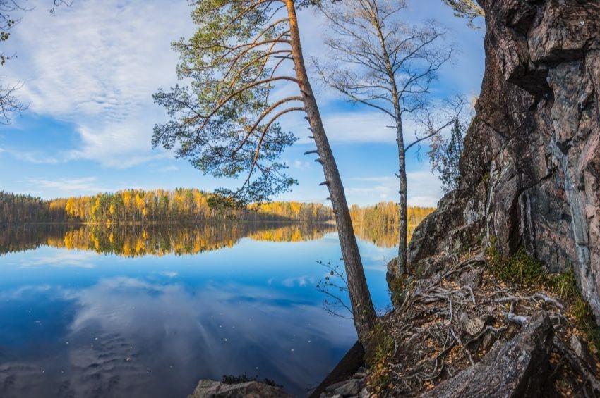 7 красивейших озер Ленинградской области