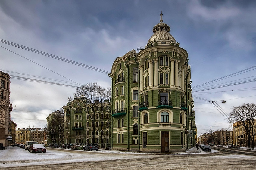 «Наш идеал улицы»: проект реконструкции улицы Ленина в Ленинграде в 1950-е гг.