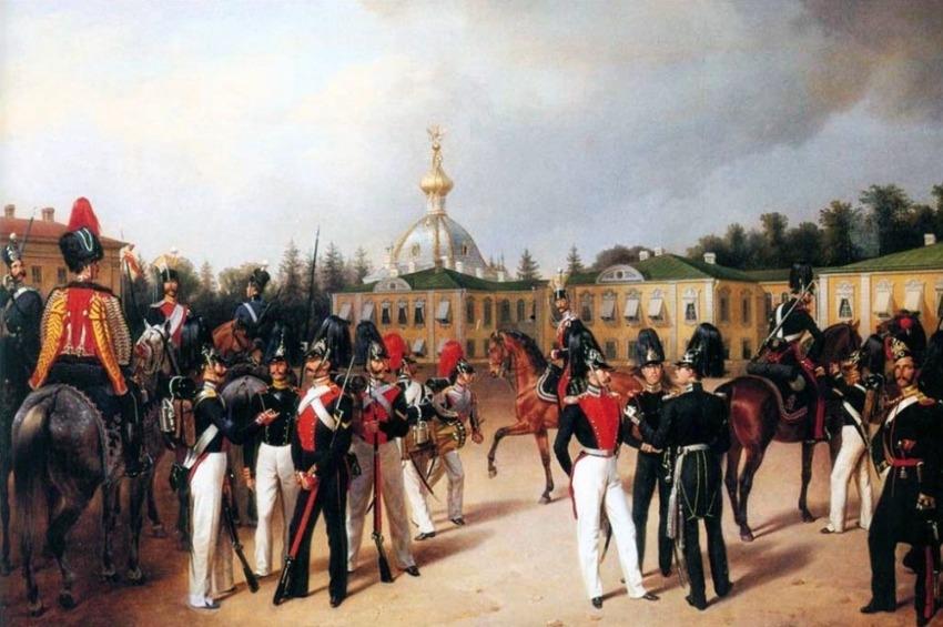 Прогулки в Петергофе младших сыновей императора Николая I  в 1850-1852 годах, часть 2