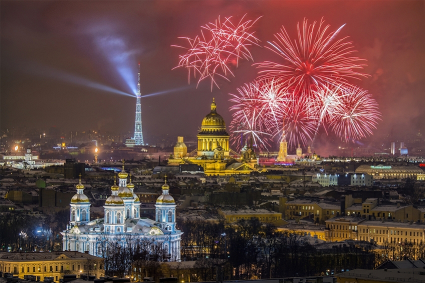 Стала известна программа празднования 315-летия Петербурга