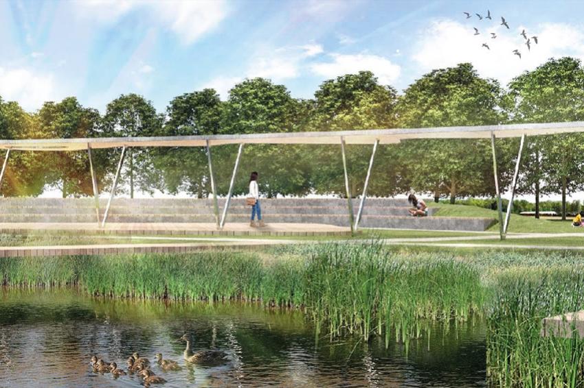 Аналог московского парка «Зарядье» откроют в Санкт-Петербурге